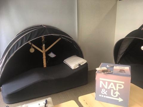 Espace de sieste - sieste au travail - nap&up