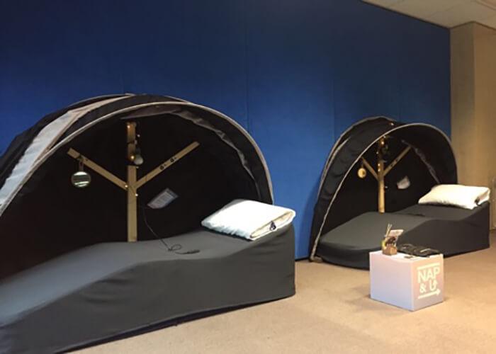 installation d'une salle de sieste