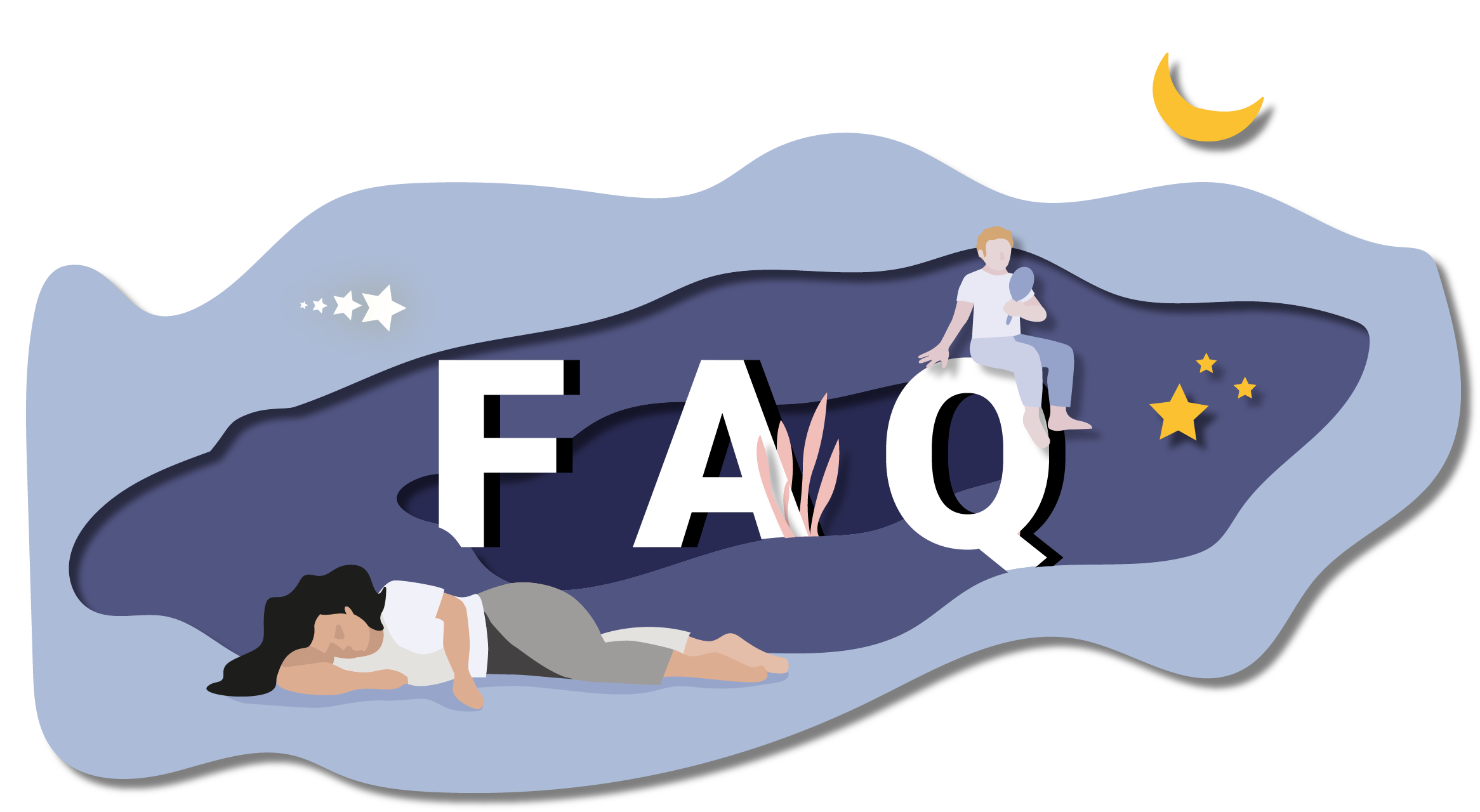 Page FAQ du site de Nap and Up