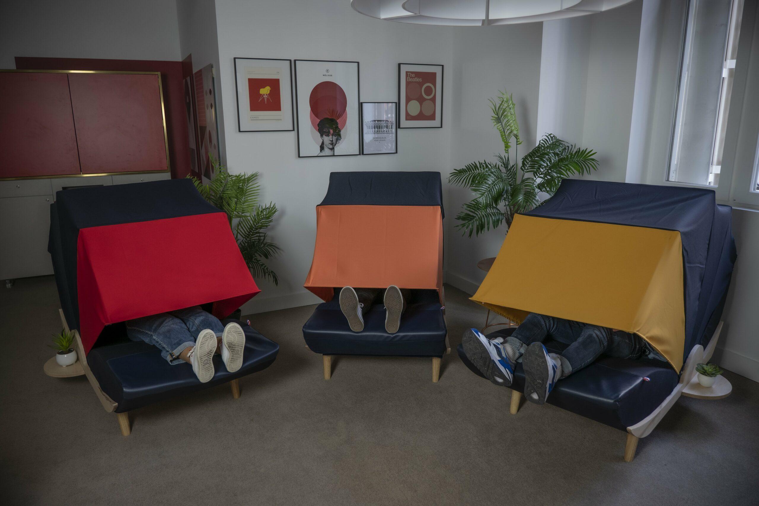 Installation d'un espace de sieste