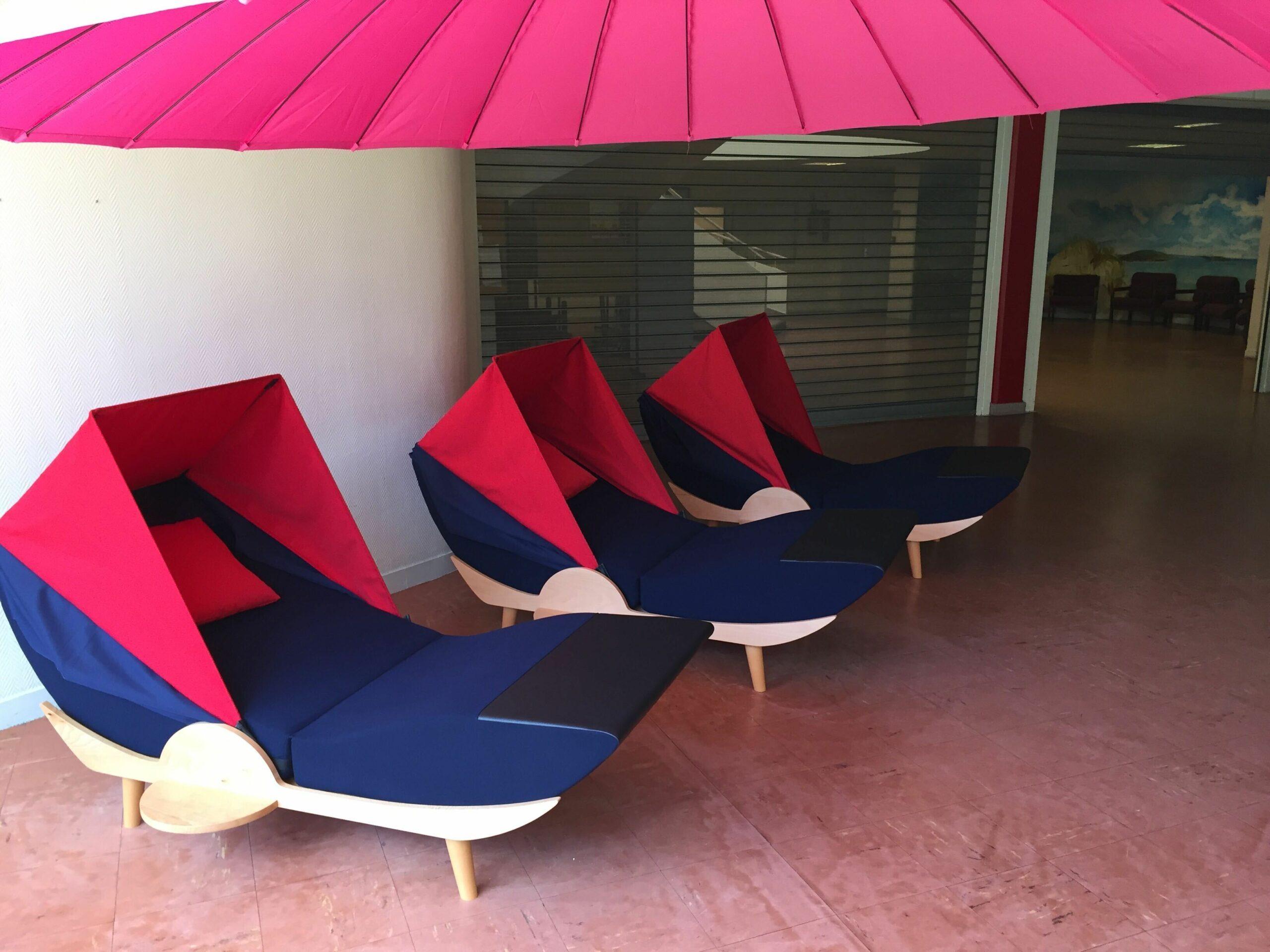 Des salles de repos au travail avec des cocons à sieste