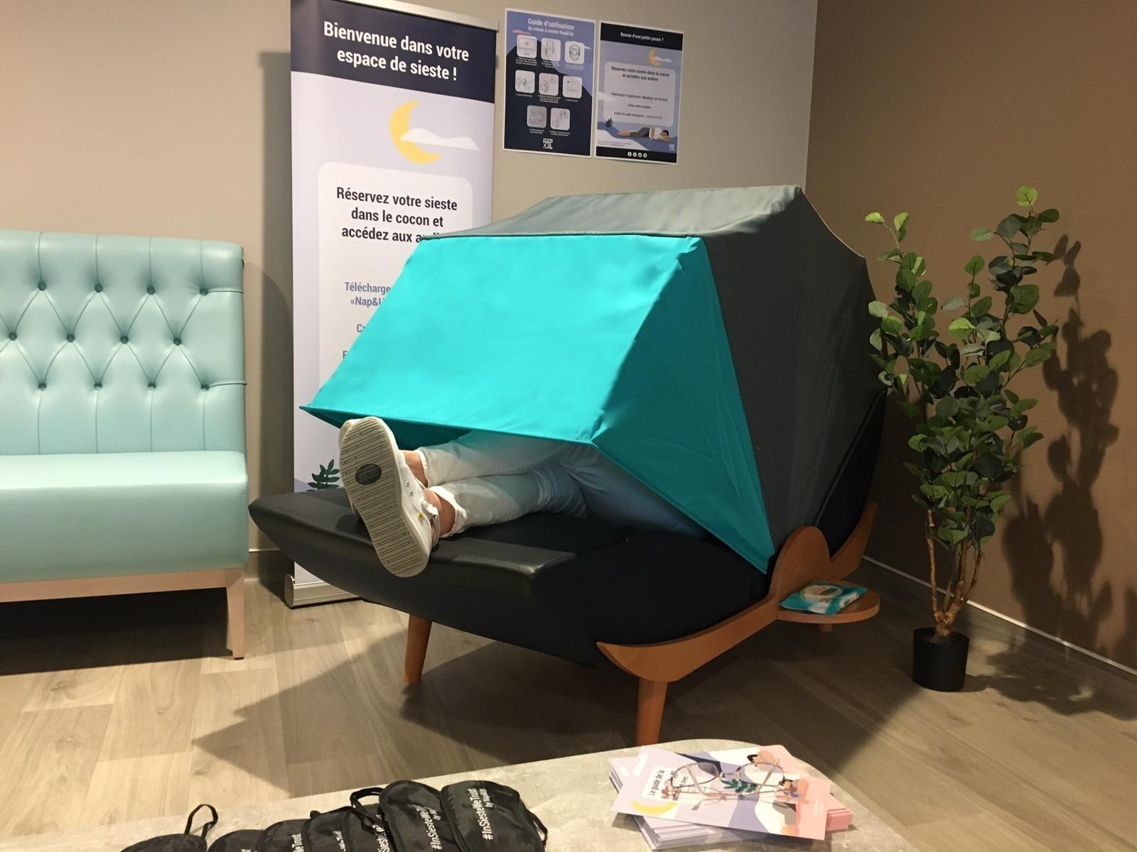 Des mobiliers de sieste pour pouvoir déconnecter en entreprise